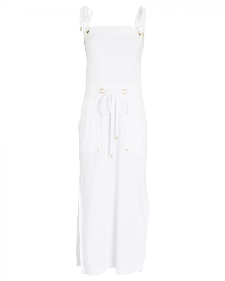Karla Terry Cotton Cover-Up Dress