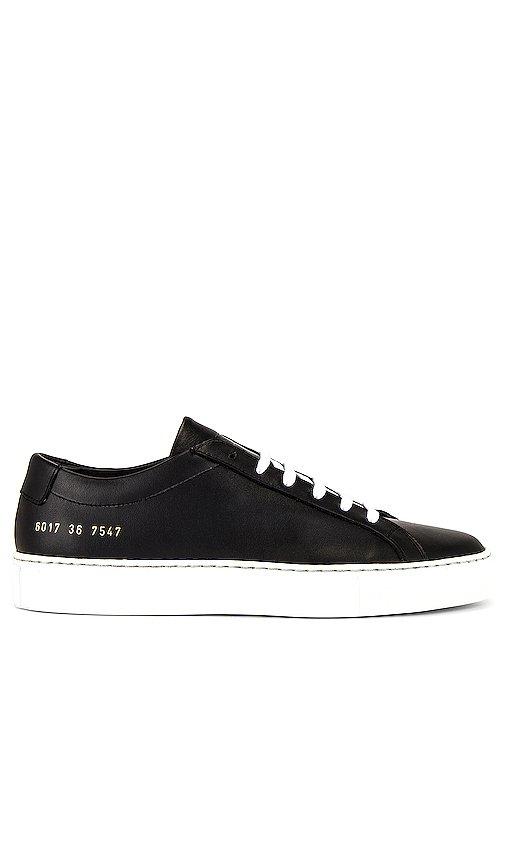 Achilles Low White Sole Sneaker