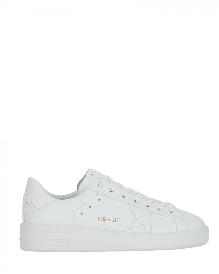 Purestar Leather Low-Top Sneakers