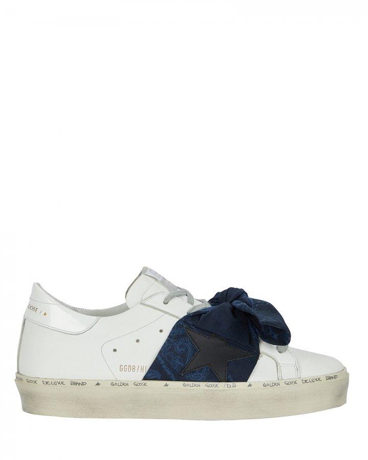 Hi Star Bandana Bow Sneakers