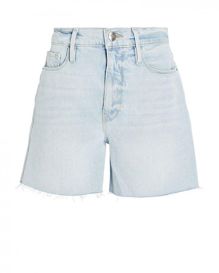 Le Tour Cut-Off Denim Shorts