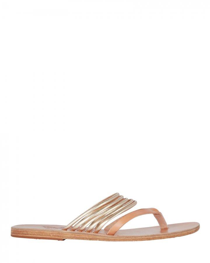 Kilini Leather Slide Sandals