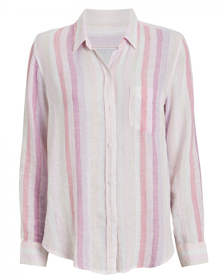 Charli Sahara Stripe Button Down