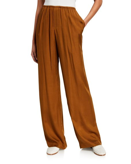 Silky Pull-On Pants