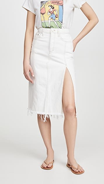 Mambo Denim Midi Skirt