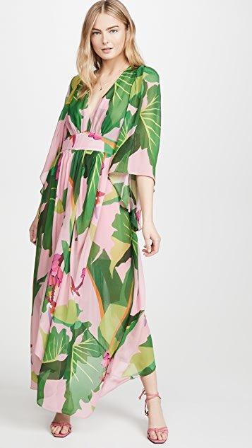 Tropicalistic Maxi Dress