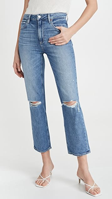 Sarah Straight Ankle Jeans