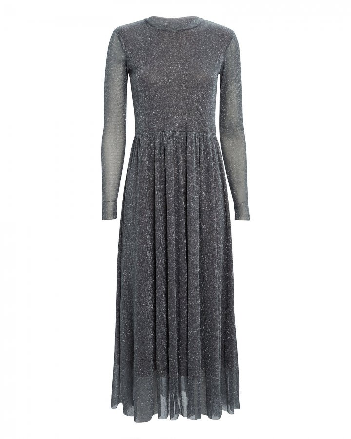 Suri Lurex Midi Dress