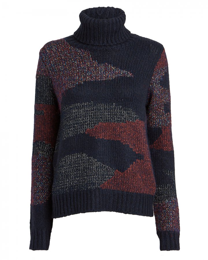 Naledi Intarsia Turtleneck Sweater