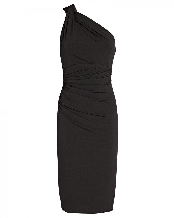 High Roller One-Shoulder Dress
