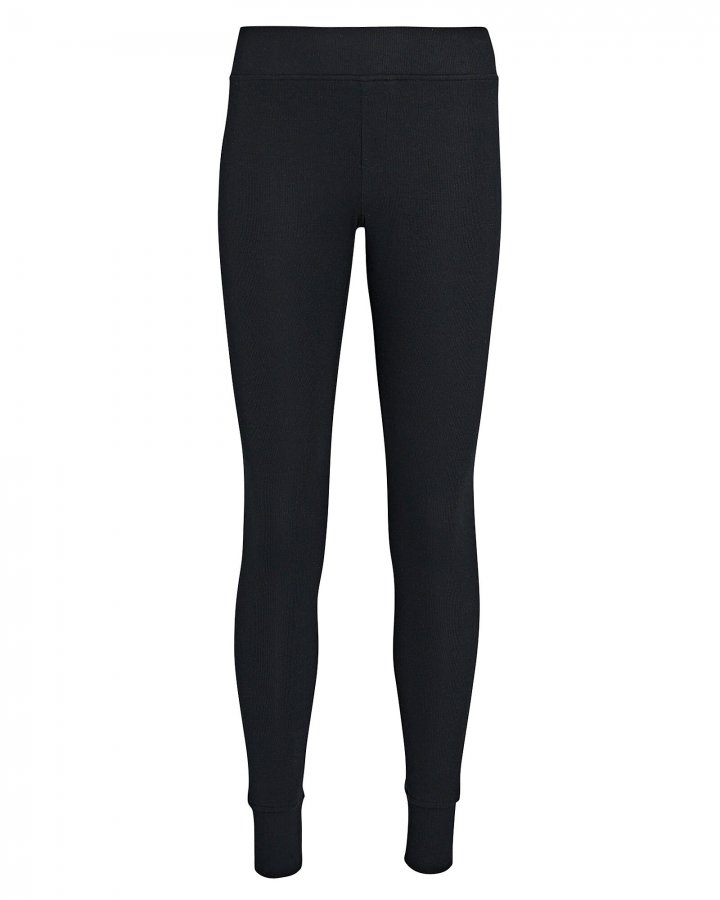 Rib Knit Micro Modal Leggings