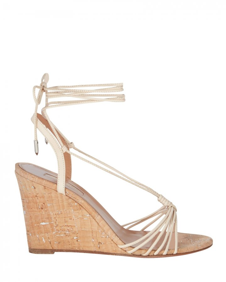 Whisper 85 Cork Wedge Sandals