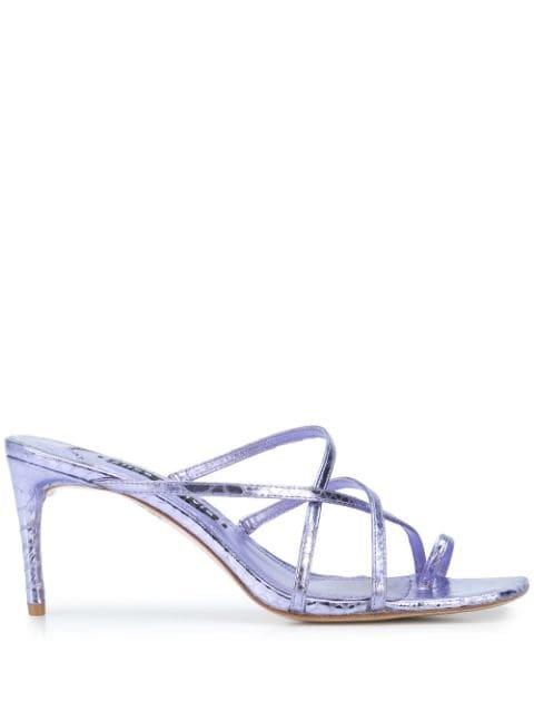 Alice+Olivia Strappy High Heel Sandals Ss20 | Farfetch.com