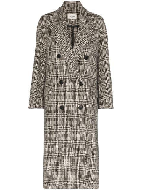 Isabel Marant Étoile Ojima Check Coat Ss20 | Farfetch.com