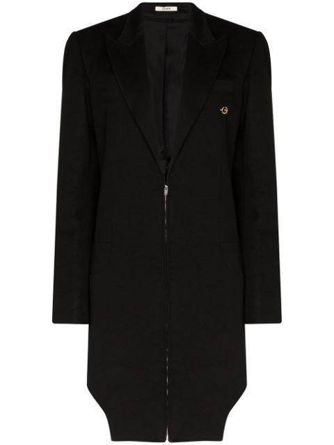 Zilver Zip-Up Coat Ss20 | Farfetch.com