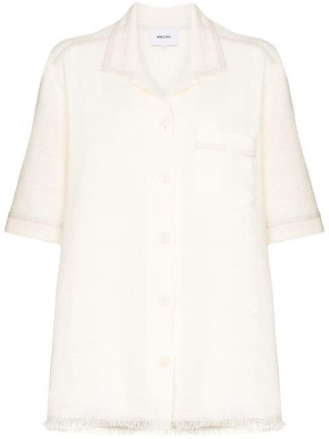Nanushka Ella Oversized Shirt Ss20 | Farfetch.com