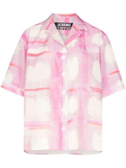 Jacquemus La Chemise Vallena Shirt Ss20 | Farfetch.com