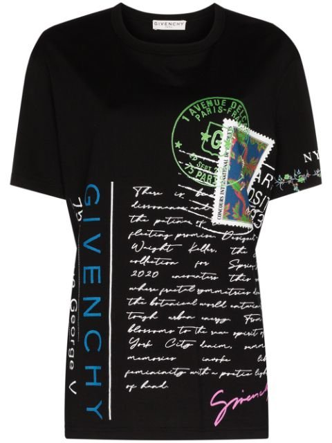 Givenchy Postcard Collage T-shirt