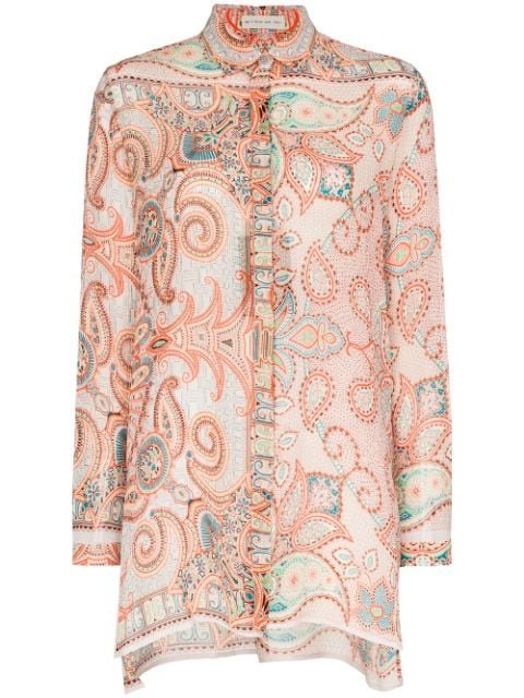 Etro Paisley Pattern Shirt Ss20 | Farfetch.com