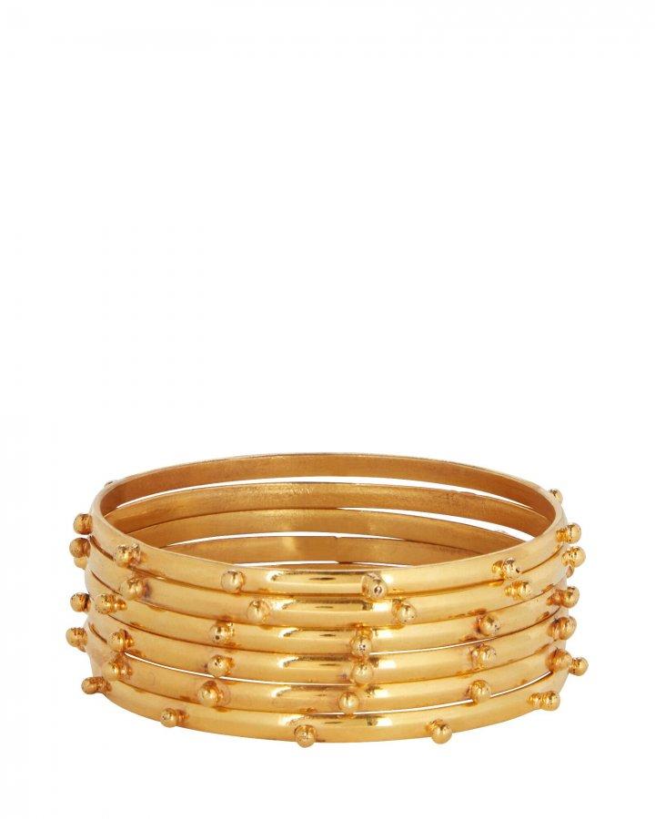 Studded Bangle Bracelets