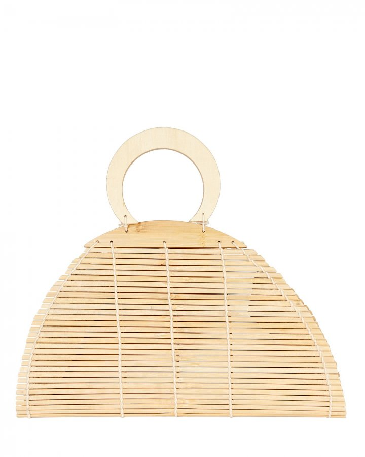 Ally Bamboo Top Handle Bag