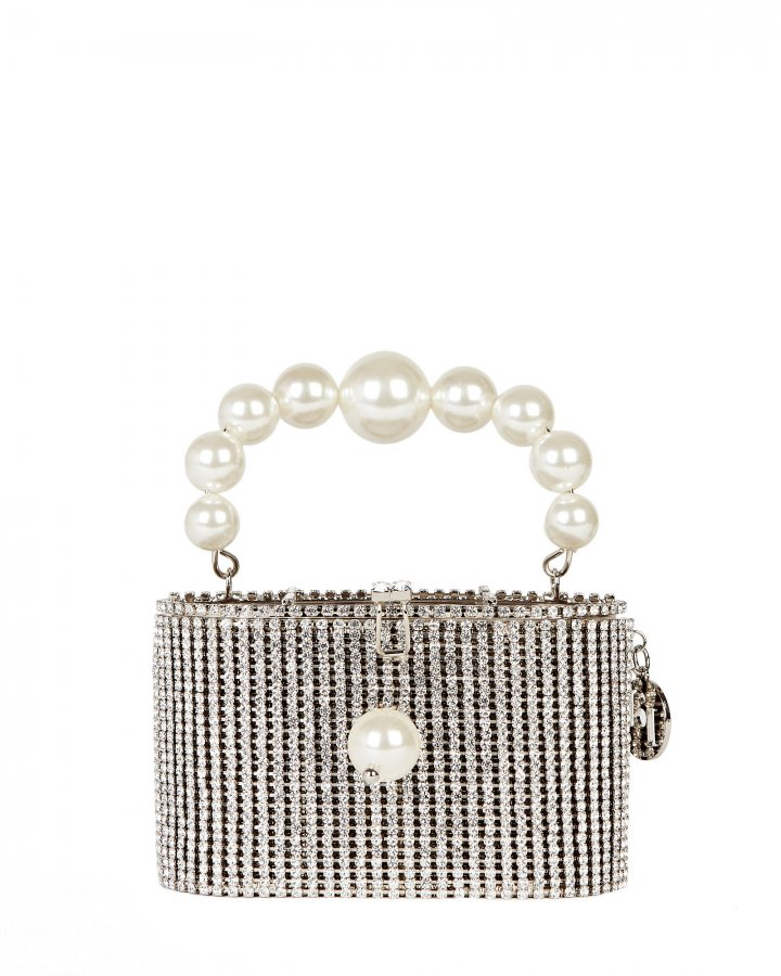 Super Holli Crystal Embellished Bag