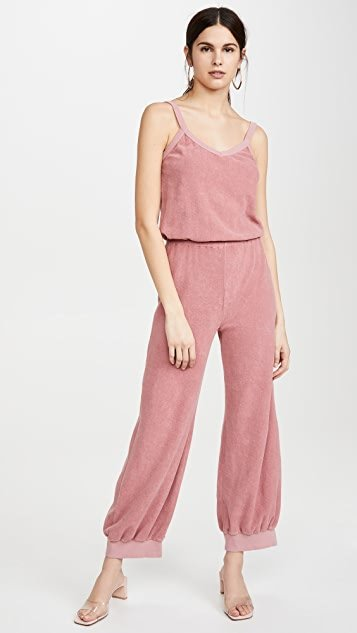 Terry Tank Jumpsuit