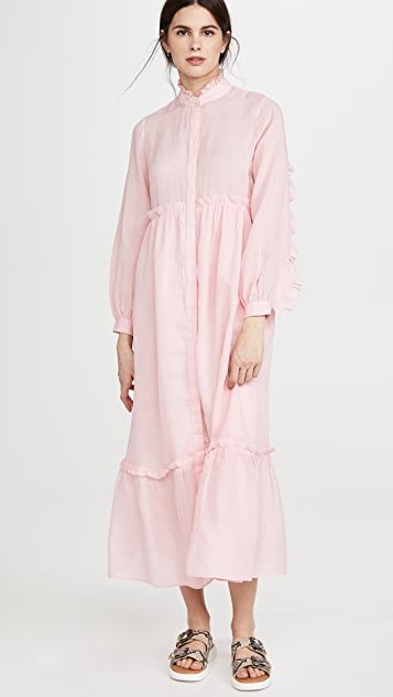 Lucy Long Sleeve Maxi Dress
