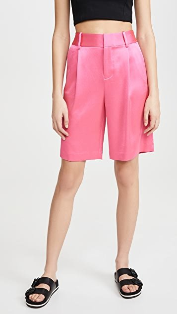 Eric High Waist Bermuda Shorts