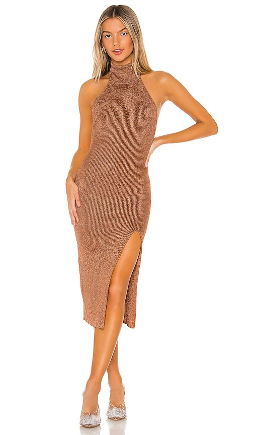Arima Halter Sweater Dress