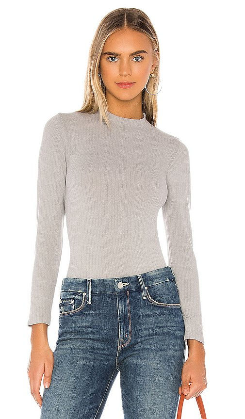 Lindsey Mock Neck Top