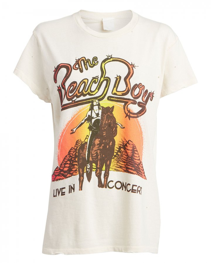 Beach Boys Concert Graphic T-Shirt