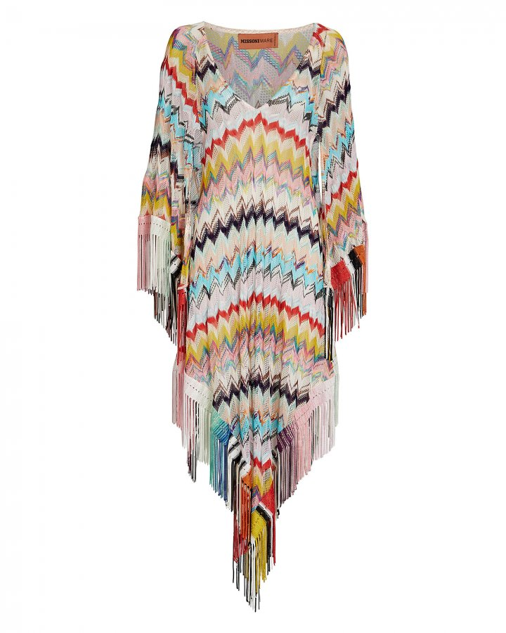 Knit Chevron Cover-Up