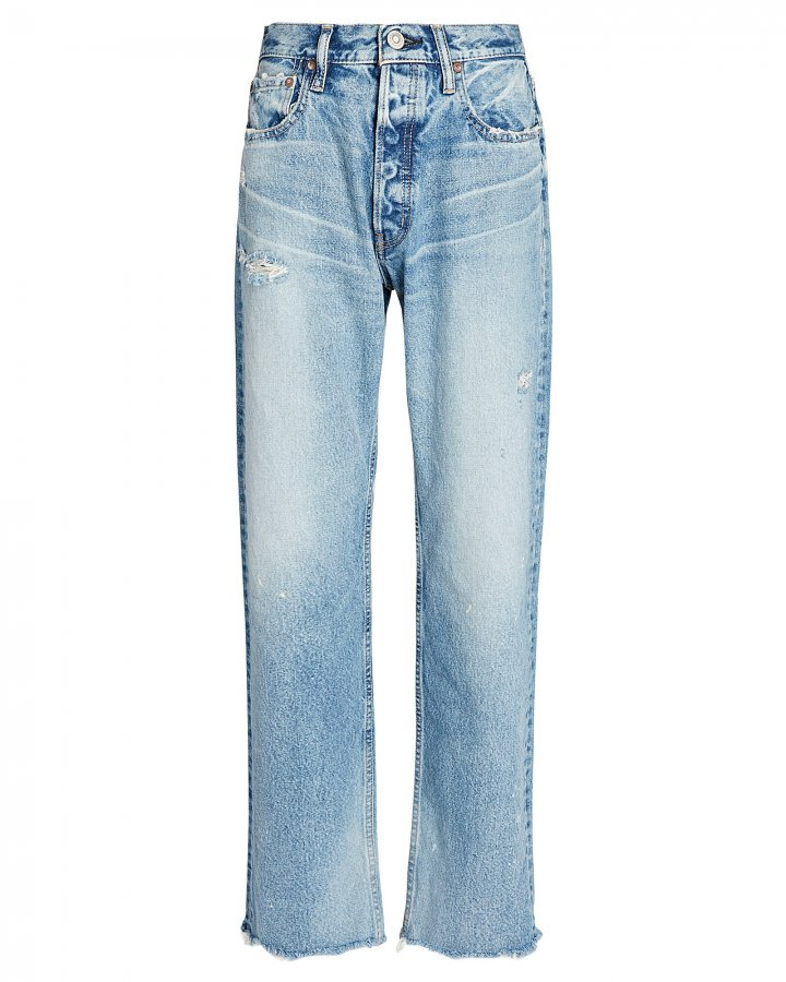 Lomita Wide Straight-Leg Jeans