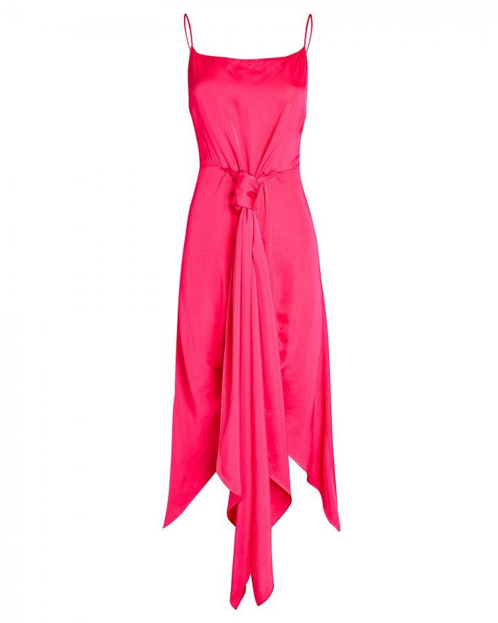 Natasha High-Low Sarong Dress