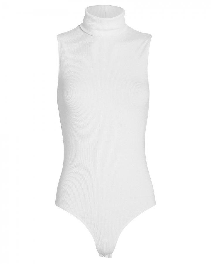 Leonie Sleeveless Turtleneck Bodysuit
