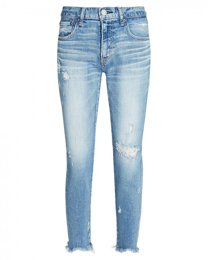 Glendele Distressed Skinny Jeans