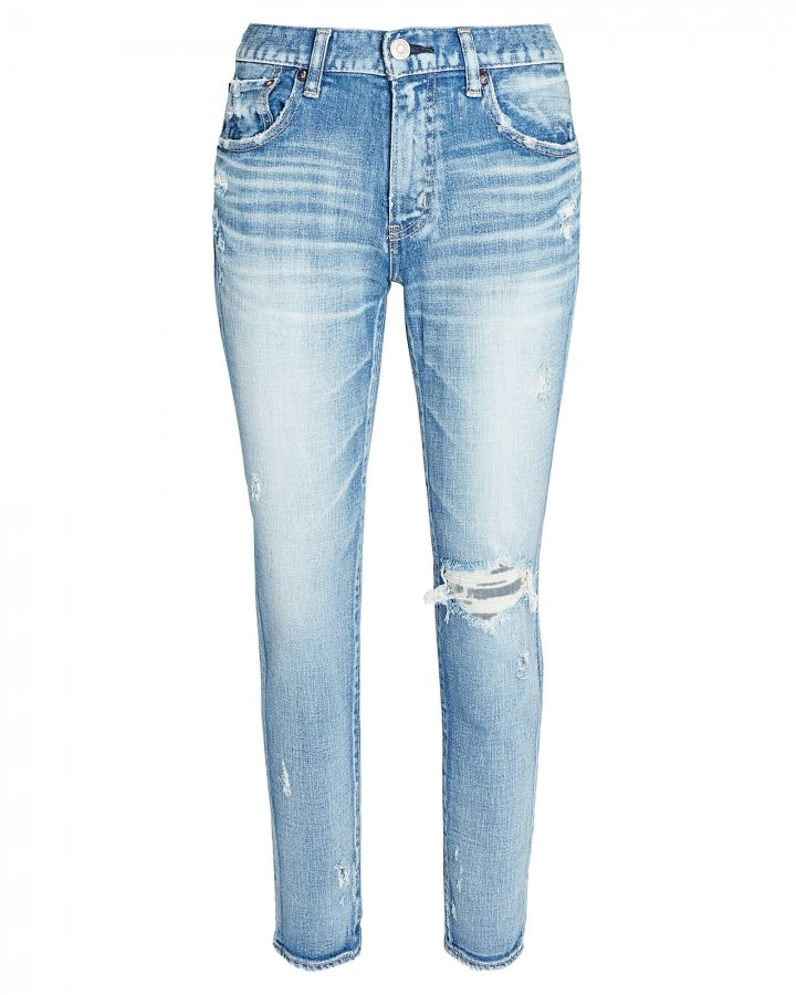 Helendale Distressed Skinny Jeans