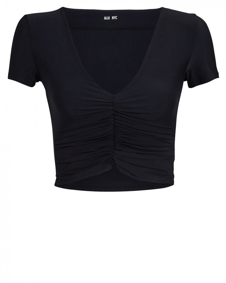 Raleigh Ruched Crop Top