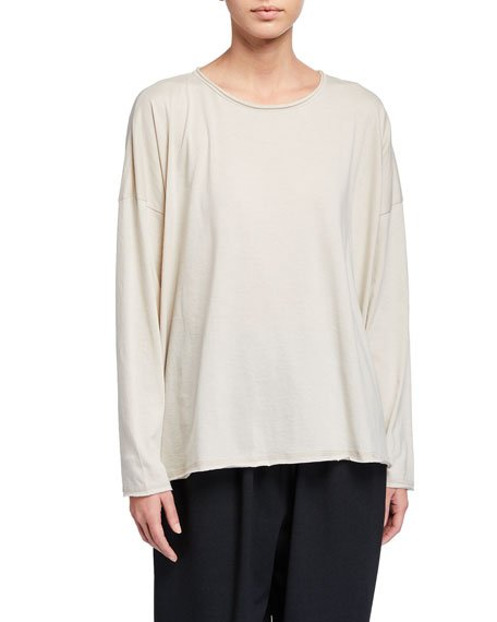 Double-Edge Long-Sleeve Shirt