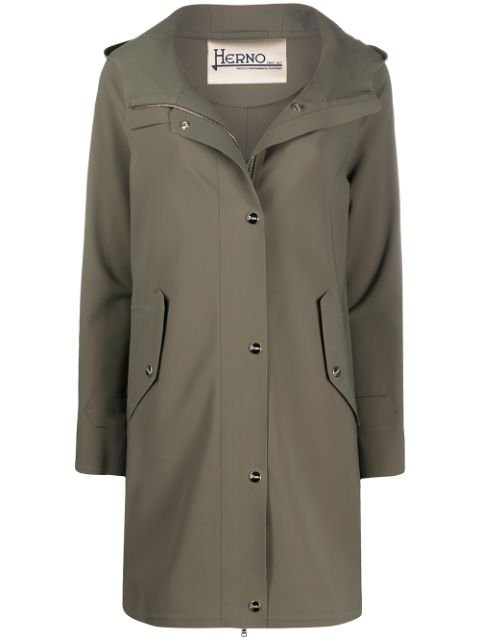 Herno Long Hooded Coat