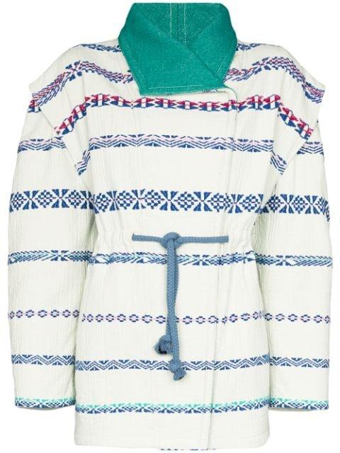 Isabel Marant Belia Embroidered Jacket