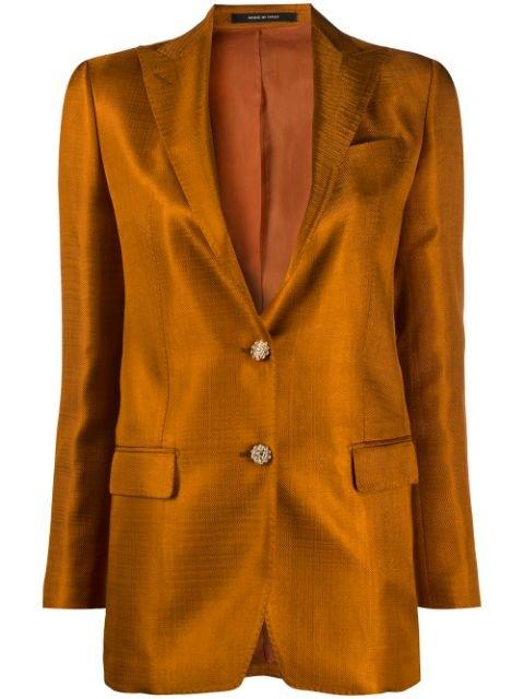 Tagliatore Crystal Buttoned Blazer