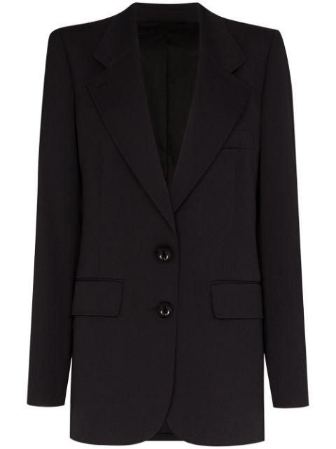 Lemaire Single-Breasted Blazer Jacket Ss20 | Farfetch.com