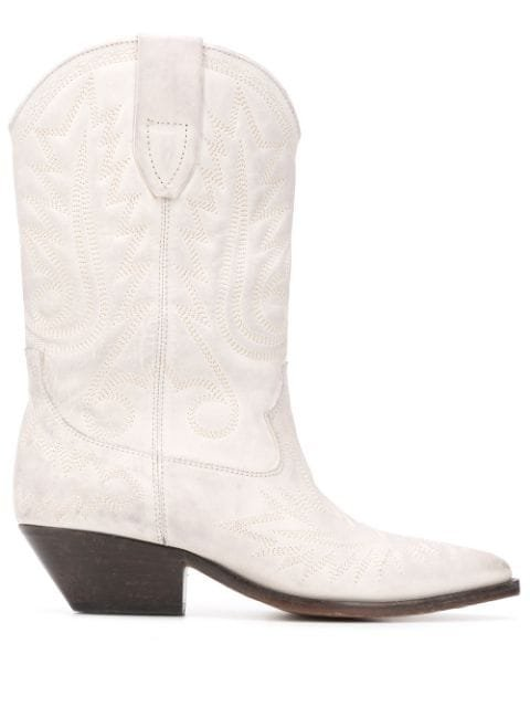 Isabel Marant Duerto Texan Ankle Boots Ss20 | Farfetch.com