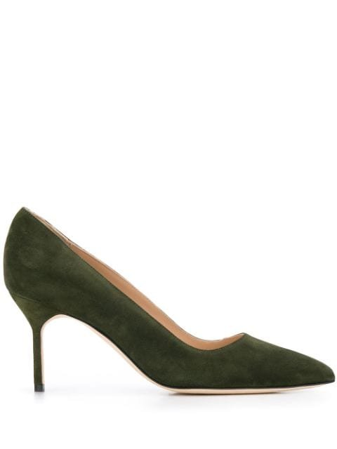 Manolo Blahnik Bb Pointed Pumps Ss20 | Farfetch.com