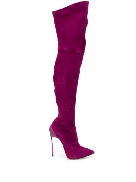 Casadei Over The Knee Stiletto Boots Aw19 | Farfetch.com