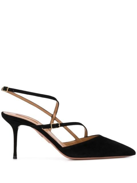 Aquazzura Carolyne Pumps Ss20 | Farfetch.com
