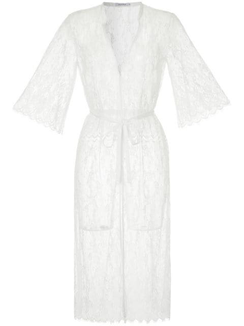Guild Prime Wrap-Style V-Neck Dress Ss18 | Farfetch.com