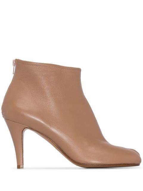 Maison Margiela 80Mm Tabi Ankle Boots | Farfetch.com